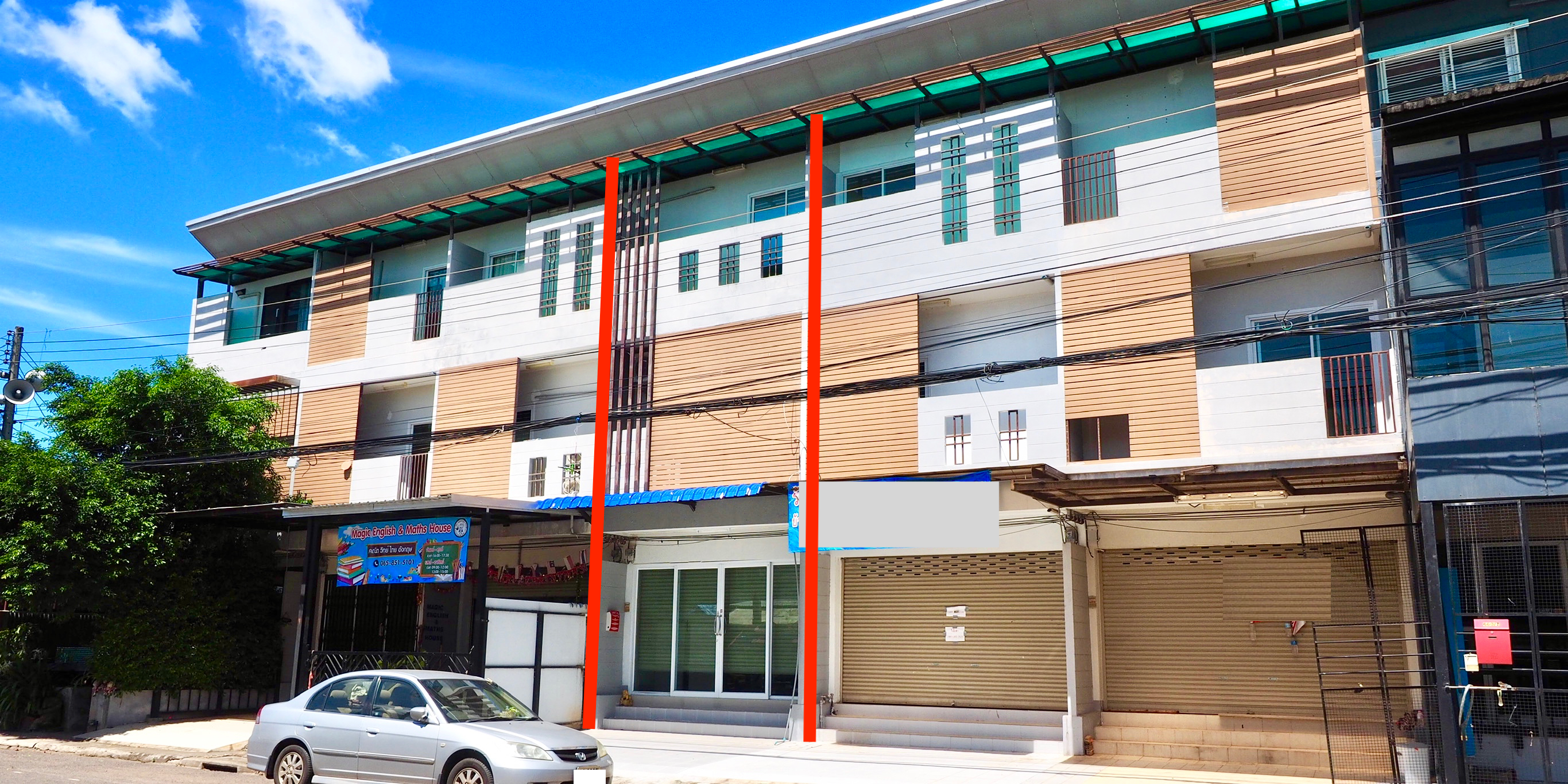 Town House for sale few meters from Phra That Choeng Chum -